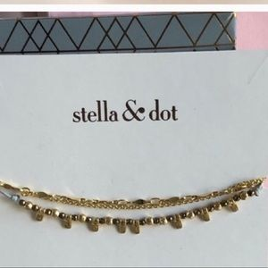 Stella and Dot Rhett and Petal bracelets